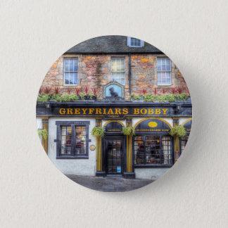 Greyfriars Bobby Pub Edinburgh 2 Inch Round Button