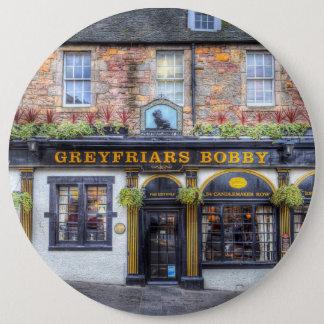 Greyfriars Bobby Pub Edinburgh 6 Inch Round Button