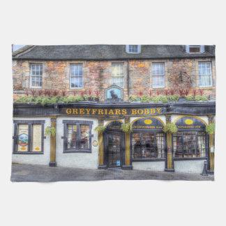 Greyfriars Bobby Pub Edinburgh Kitchen Towel