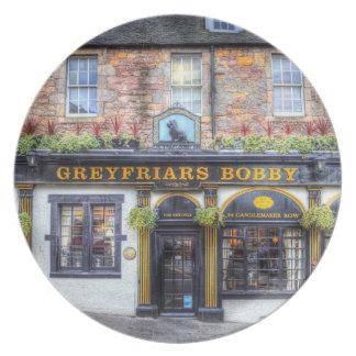 Greyfriars Bobby Pub Edinburgh Plate