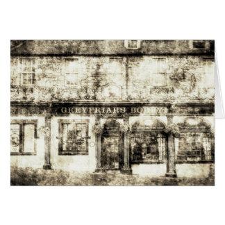 Greyfriars Bobby Pub Edinburgh Vintage Card