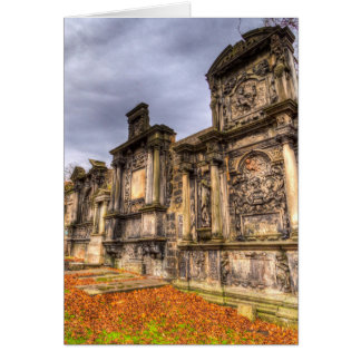 Greyfriars Kirk Cemetery Edinburgh Scotland Card