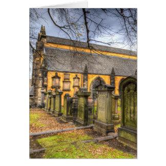Greyfriars Kirk Church Card