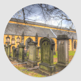Greyfriars Kirk Church Classic Round Sticker