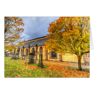 Greyfriars Kirk Church Edinburgh Card