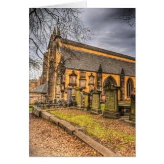 Greyfriars Kirk Church Edinburgh Card