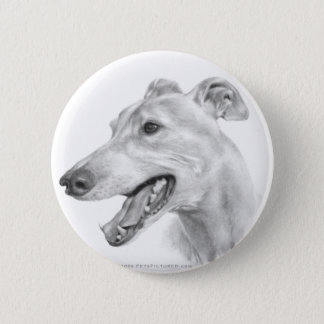 Greyhound 2 Inch Round Button