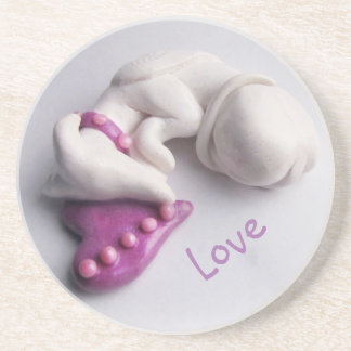 Greyhound Angel Coaster