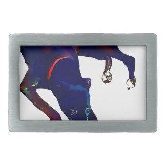 Greyhound Art Belt Buckle
