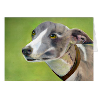 Greyhound art card (a405)
