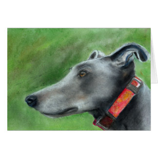 Greyhound art card (a53)