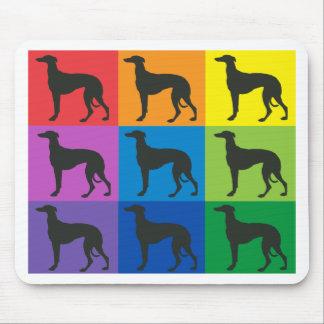 Greyhound Art Mousepad