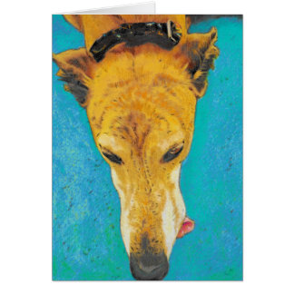 Greyhound Blank Card ETS