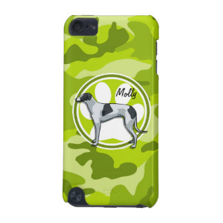 Greyhound bright green camo camouflage iPod touch 5G cover