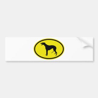 Greyhound Bumper Sticker