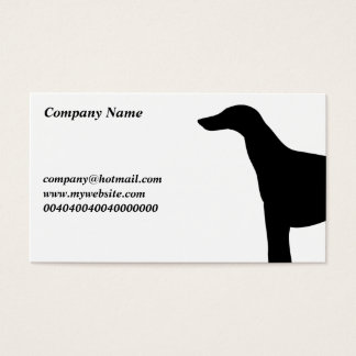 Greyhound, Business Card