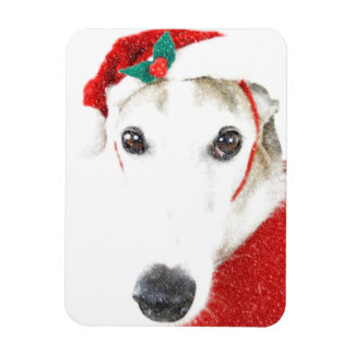 Greyhound Christmas Magnet   - For Charity