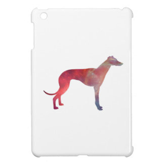 Greyhound cosmos silhouette iPad mini case