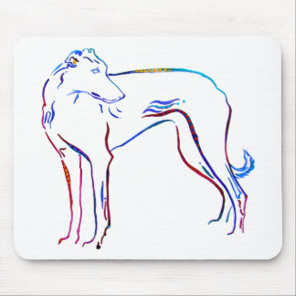 GREYHOUND DESIGNS MOUSE PAD