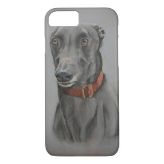 Greyhound Dog Art Phone Case