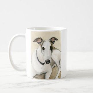 """""""Greyhound"""" Dog Art Reproduction Mug"""