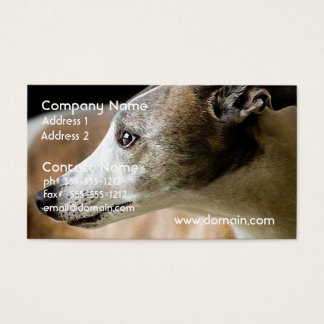 Greyhound Dog Business Cards