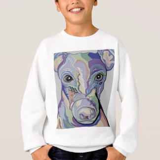 Greyhound in Denim Colors Sweatshirt
