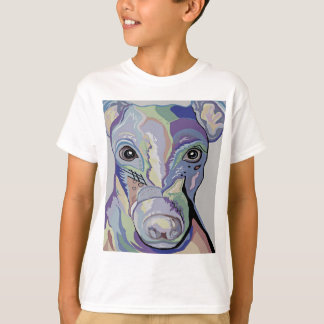 Greyhound in Denim Colors T-Shirt