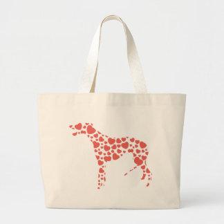 Greyhound Jumbo Tote Bag
