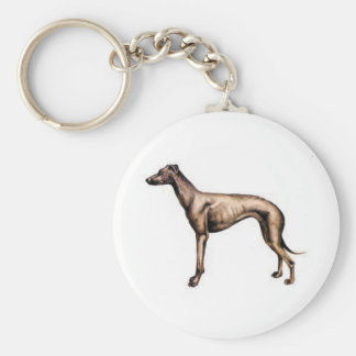 Greyhound Keychain
