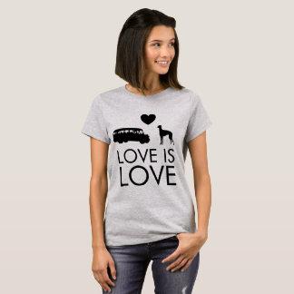 Greyhound Love T-Shirt