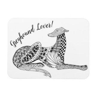 """Greyhound Magnet 3""""x4"""""""