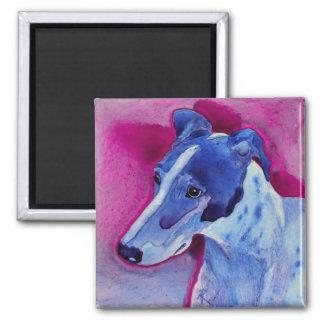 "Greyhound Magnet - ""Blue Boy"""