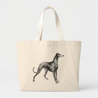 greyhound merchandise canvas bags