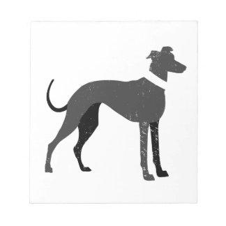 Greyhound Notepad