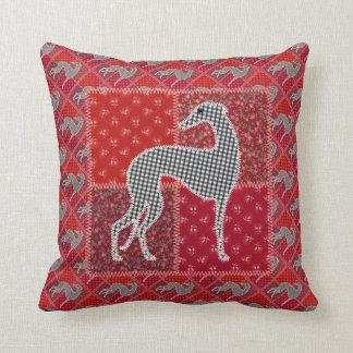 "Greyhound ""of Provence "" Throw Pillow"