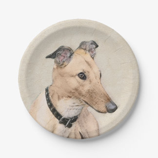Greyhound Paper Plate