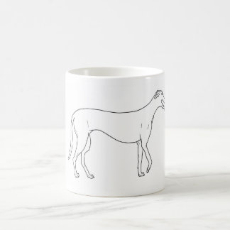 Greyhound Pawprint Mug