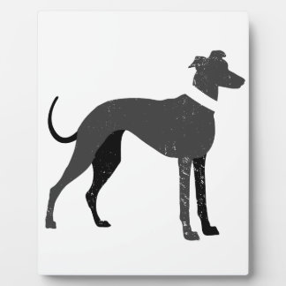 Greyhound Plaque