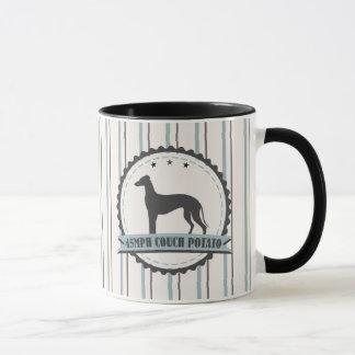 Greyhound Retired Racer 45mph Lazy Dog Mug
