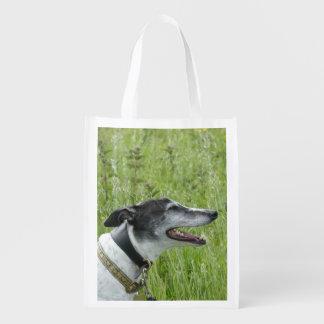 Greyhound reusable bag (p380) grocery bags