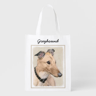 Greyhound Reusable Grocery Bag