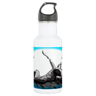 Greyhound Roach - Life's Greyter Upside Down 532 Ml Water Bottle