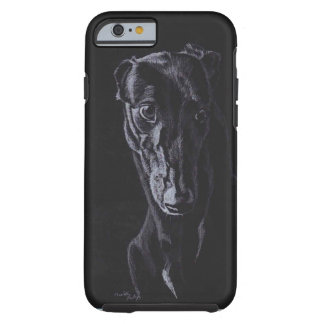 Greyhound Silhouette Dog Art Phone Case