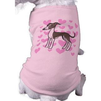 Greyhound / Whippet / Italian Greyhound Love Pet Shirt
