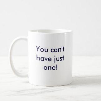 Greyhounds are like potatoe chips coffee mug