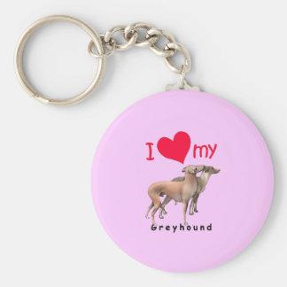 Greyhounds Keychain