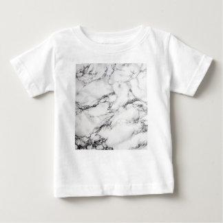Greyish White Marble Baby T-Shirt