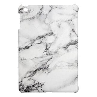 Greyish White Marble Case For The iPad Mini