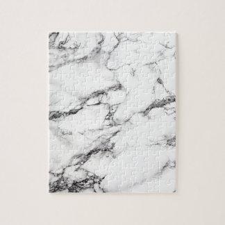 Greyish White Marble Jigsaw Puzzle